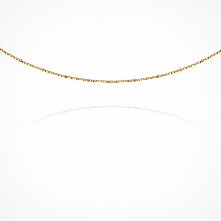 Temple of the Sun Fine Choker Chain Gold
