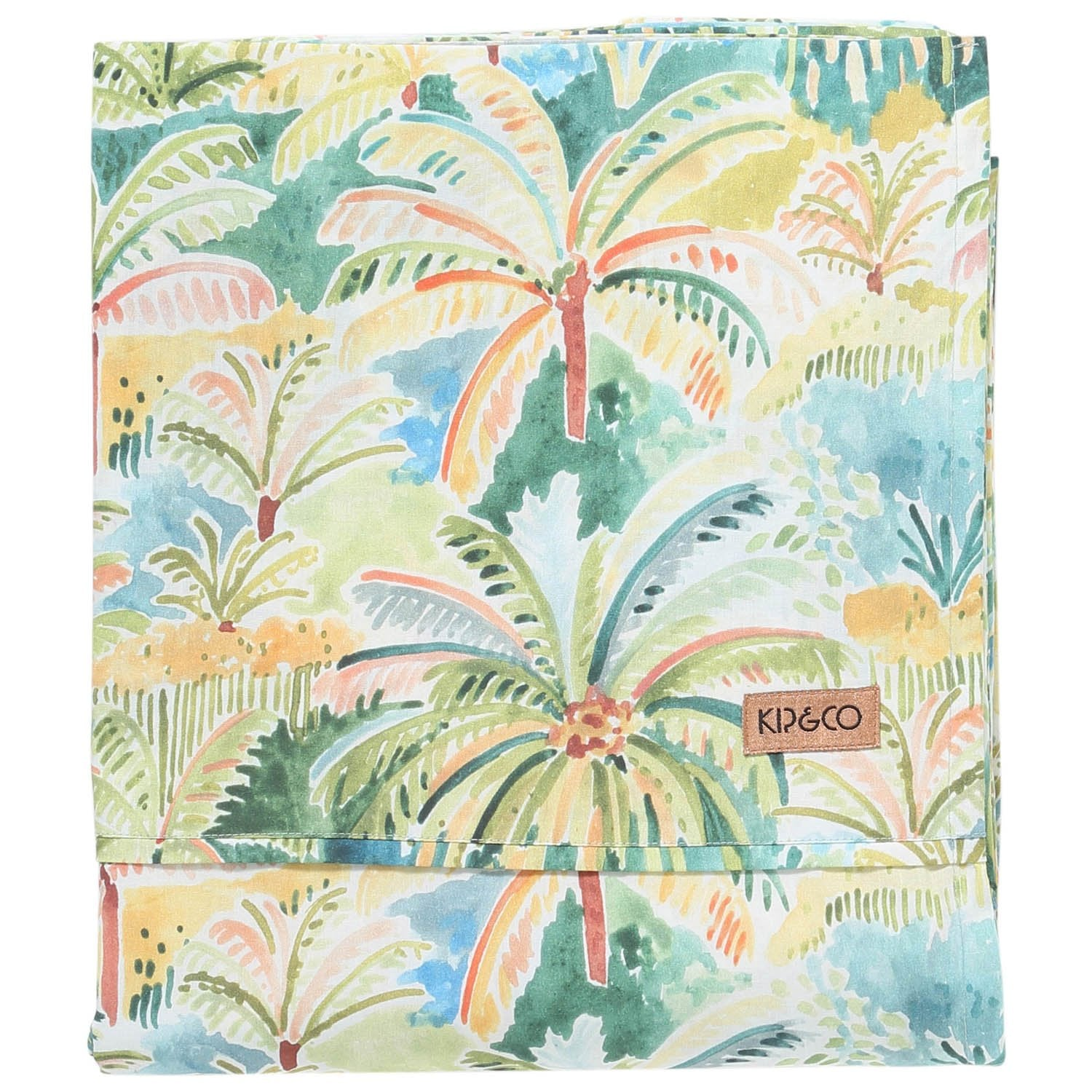Kip & Co Colombo Cotton Flat Sheet- Queen - The Artisan Storeroom