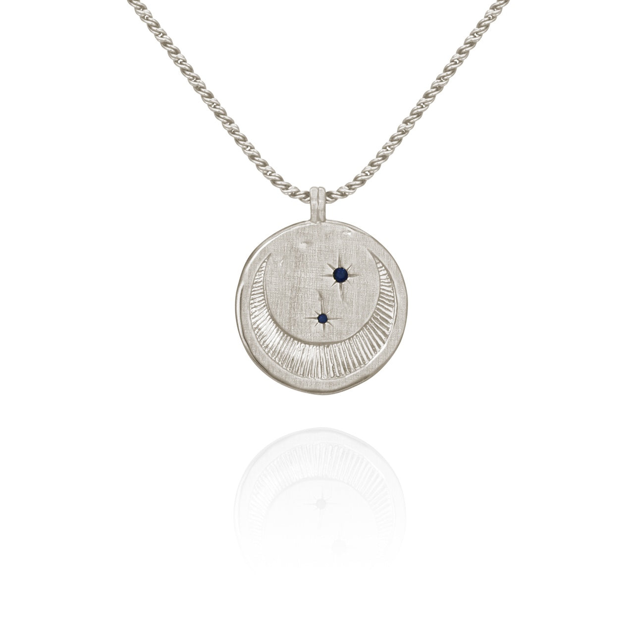 Celeste Necklace Silver - The Artisan Storeroom