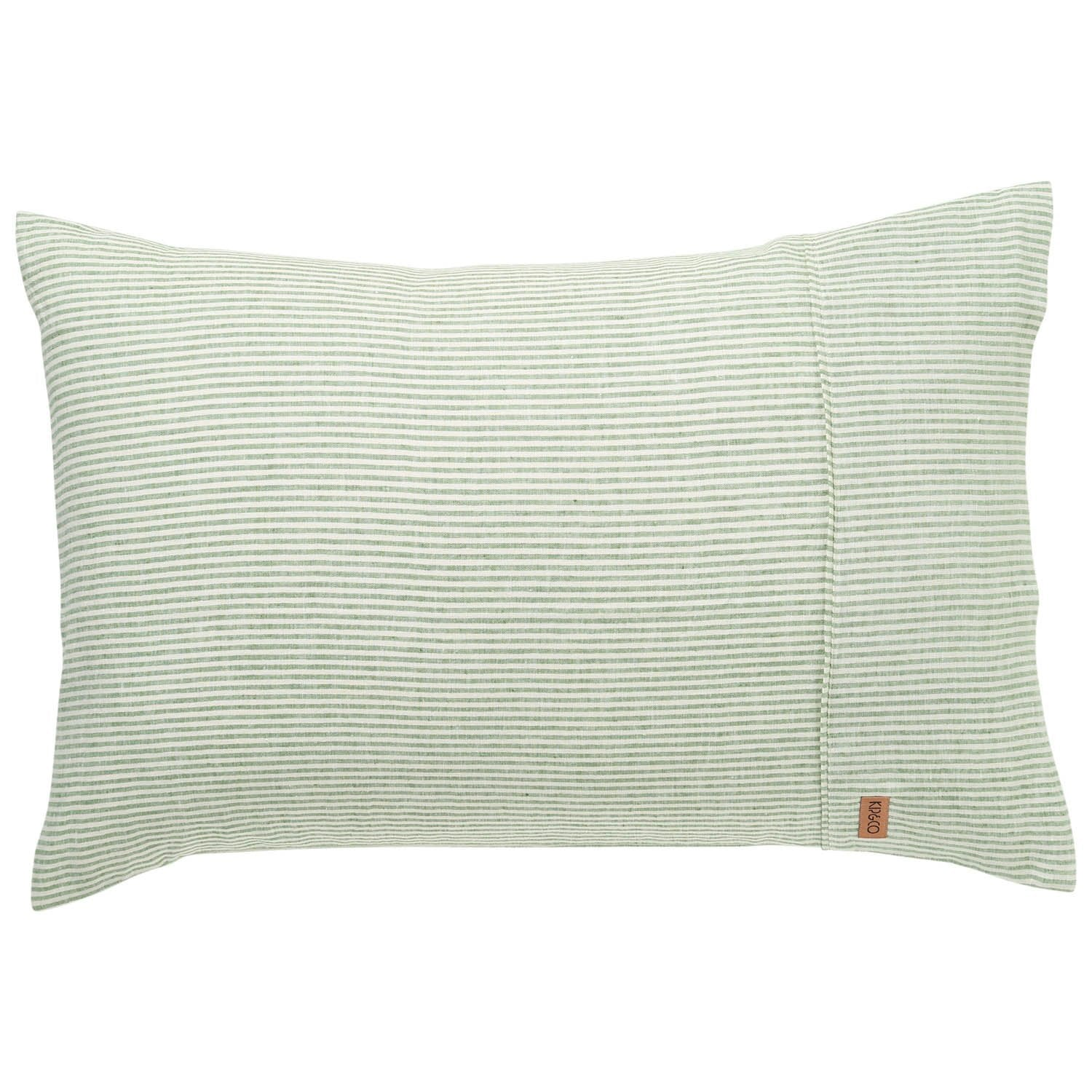 St Barts Stripe Linen Pillowcase 2P Set - The Artisan Storeroom
