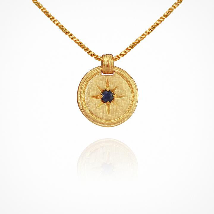 Temple of the Sun Stella Necklace Gold