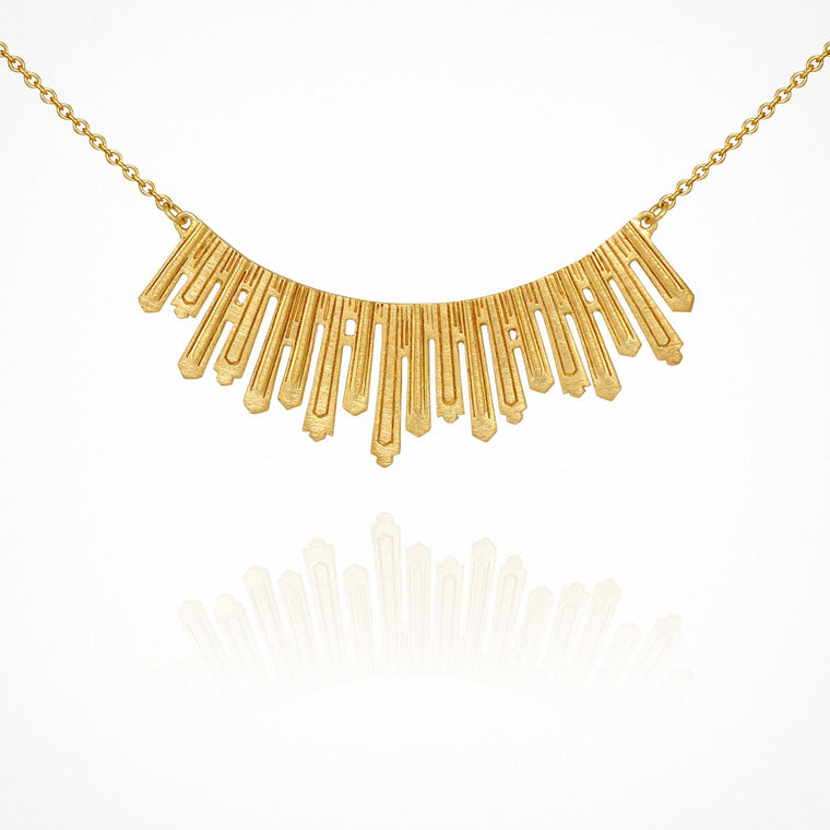 Temple of the Sun Sunna Necklace Gold