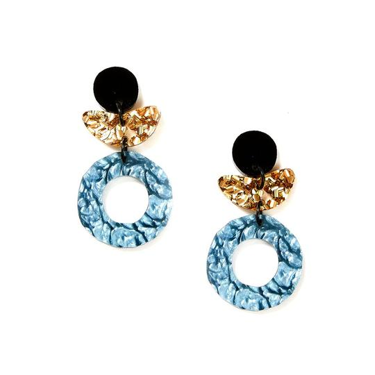 Martha Jean Dune Flower Earrings - The Artisan Storeroom