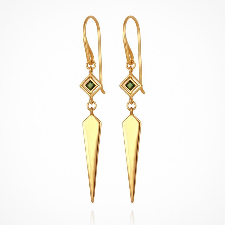 Temple of the Sun Rhya Earrings Gold
