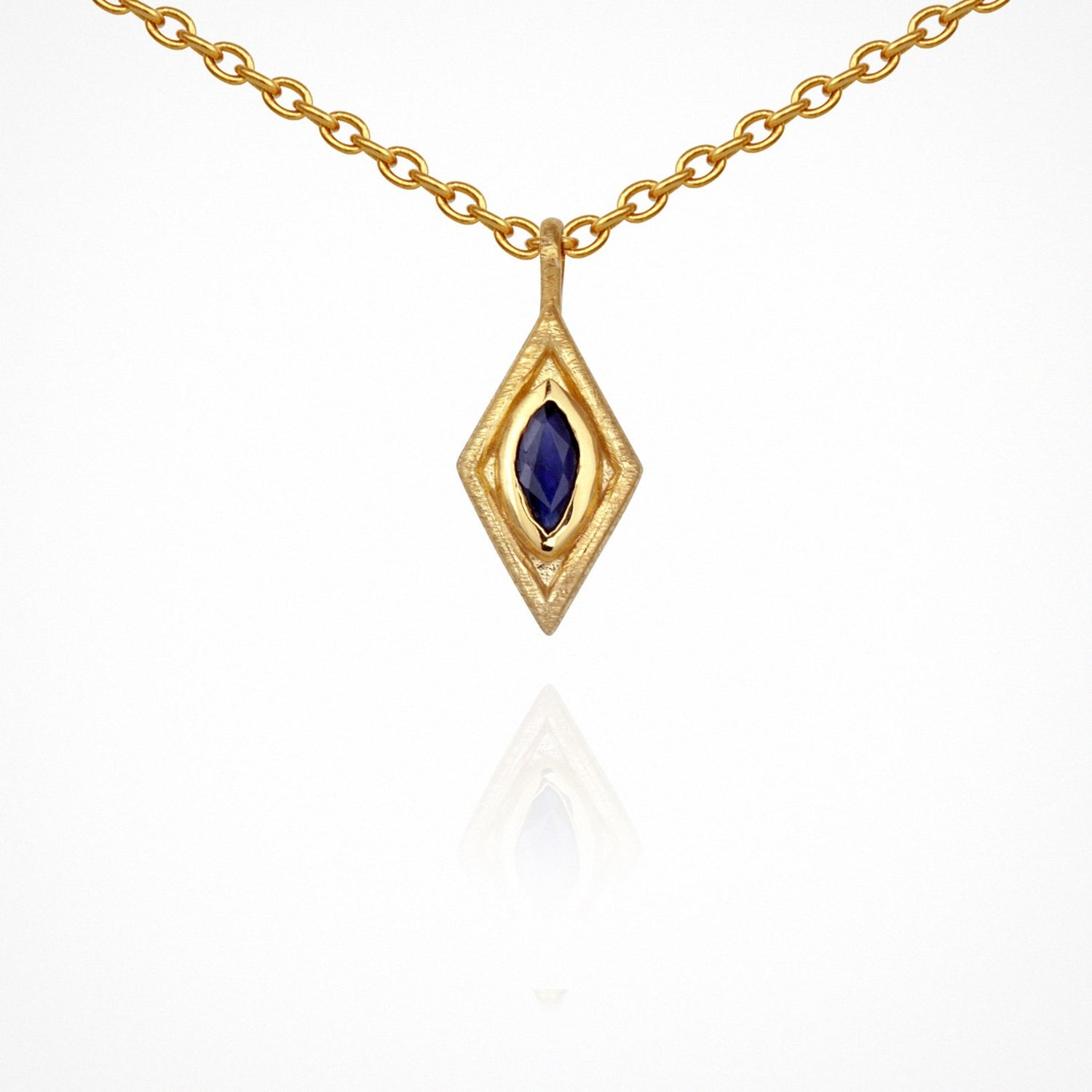 Temple of the Sun Nazar Necklace Gold - The Artisan Storeroom
