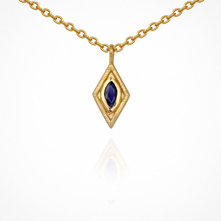 Temple of the Sun Nazar Necklace Gold