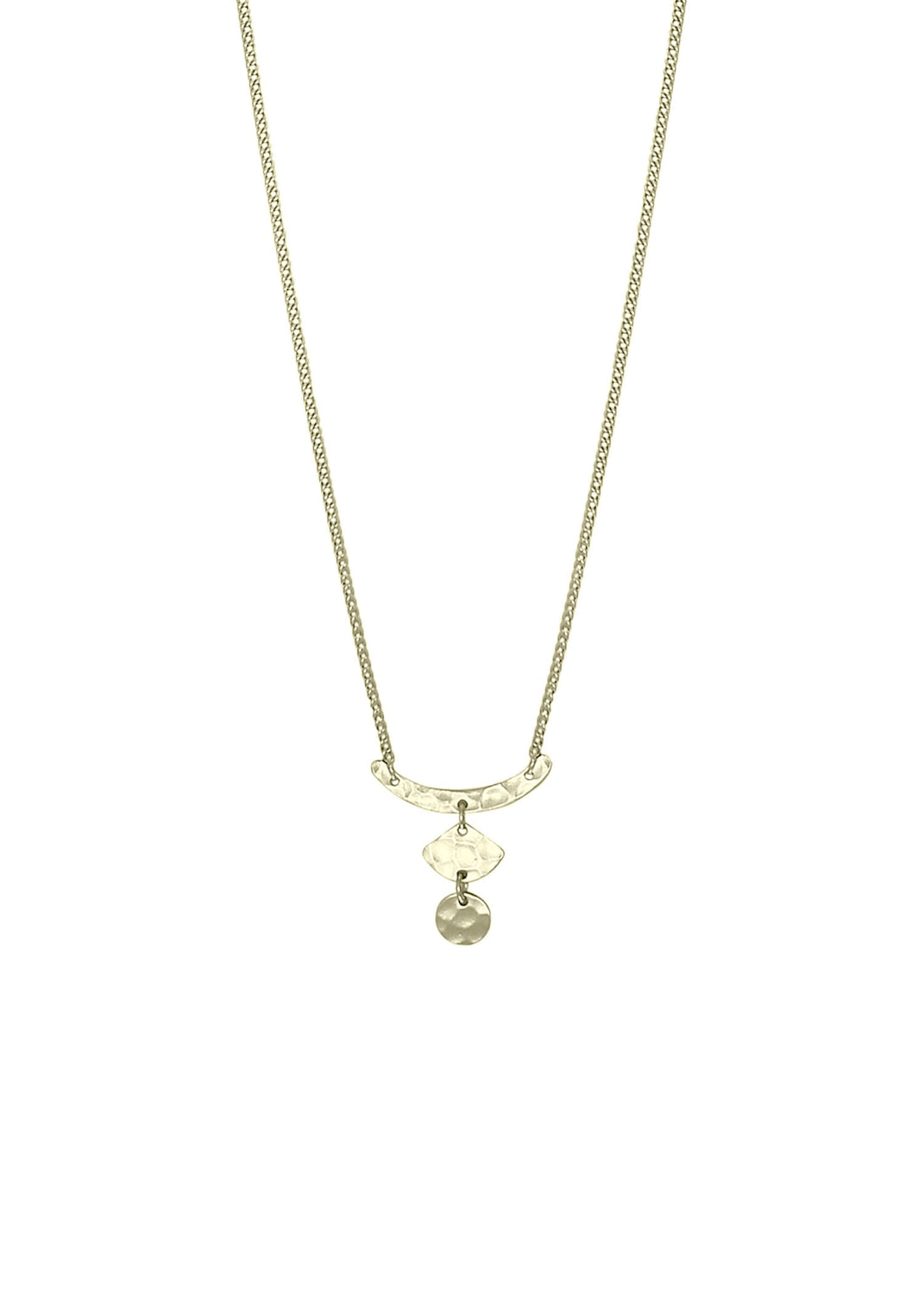 Nicole Fendel Ivy Drop Necklace