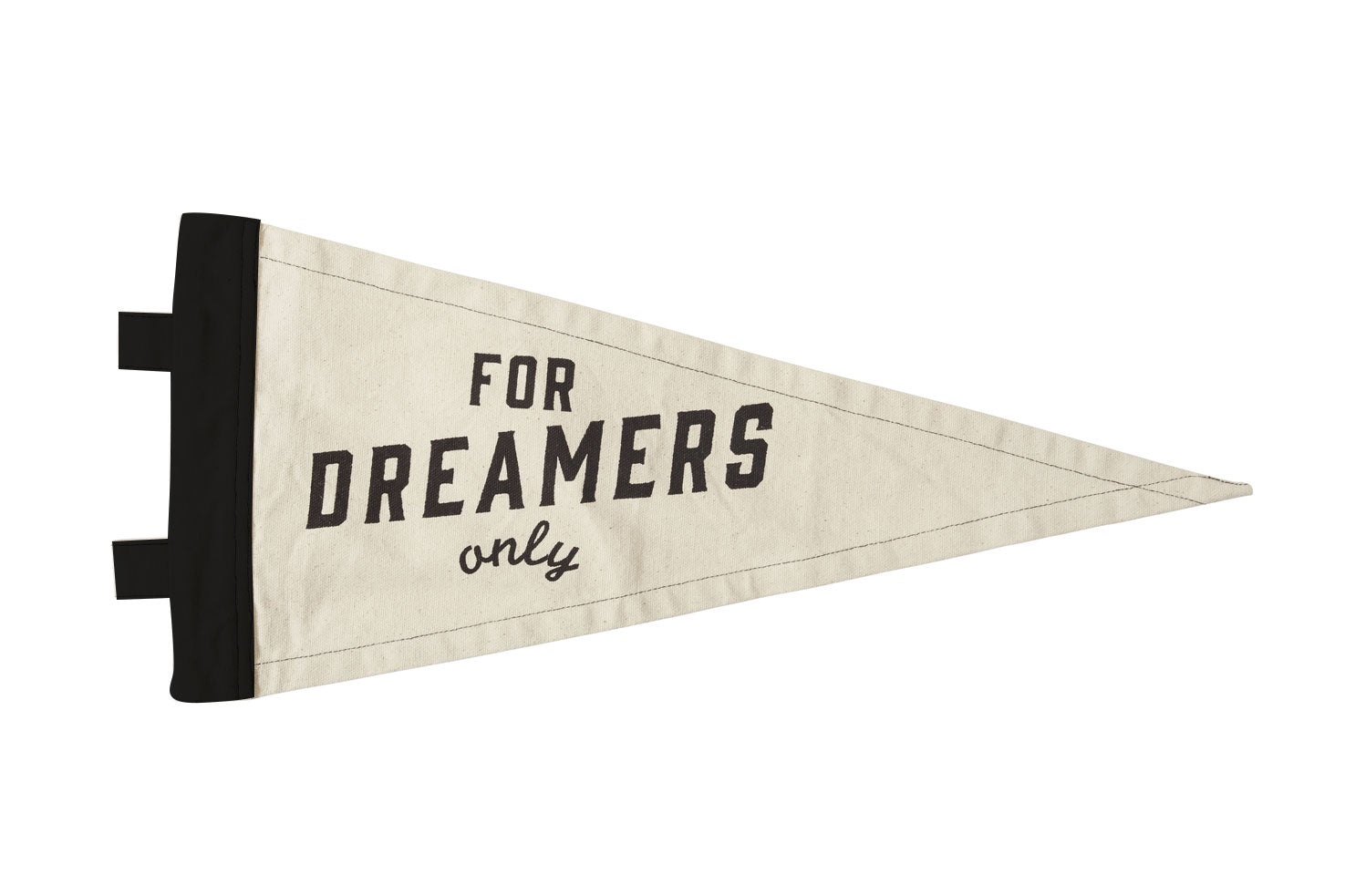 Pony Rider Dreamers Only Flag
