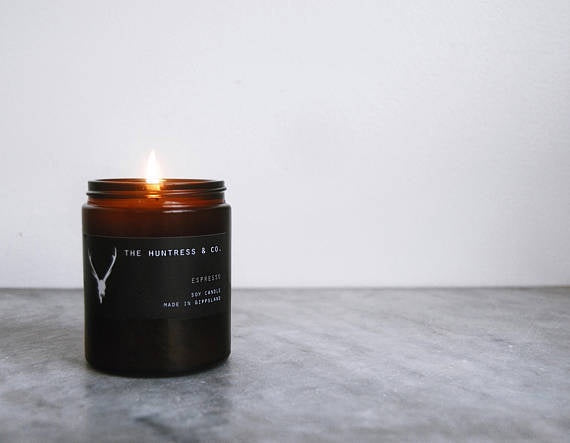 The Huntress & Co. Soy Candle- Sml - The Artisan Storeroom