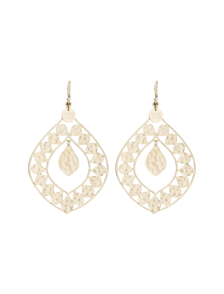 Nicole Fendel Cierra Drop Earrings