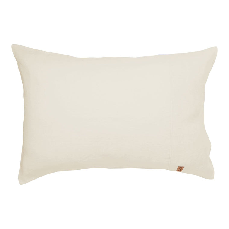Kip & Co Coconut Linen Pillowcase 2P Set