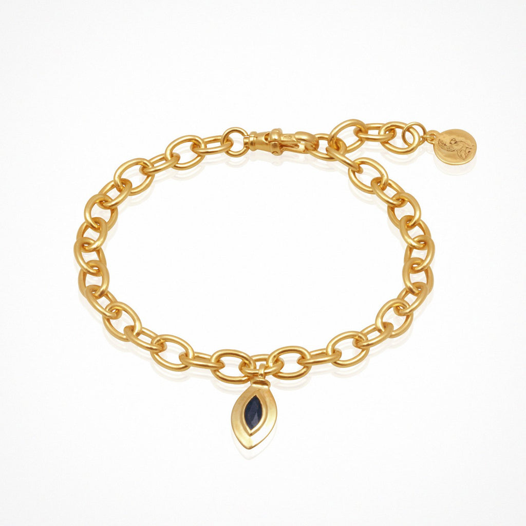 Temple of the Sun Eve Bracelet Gold