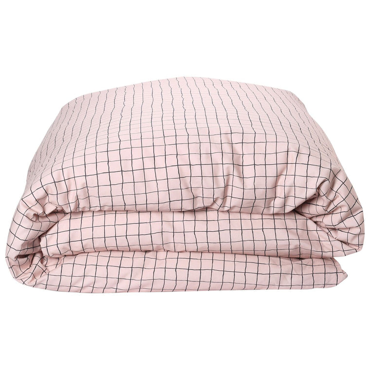 Kip & Co Check 1,2 Cotton Quilt Cover- Queen