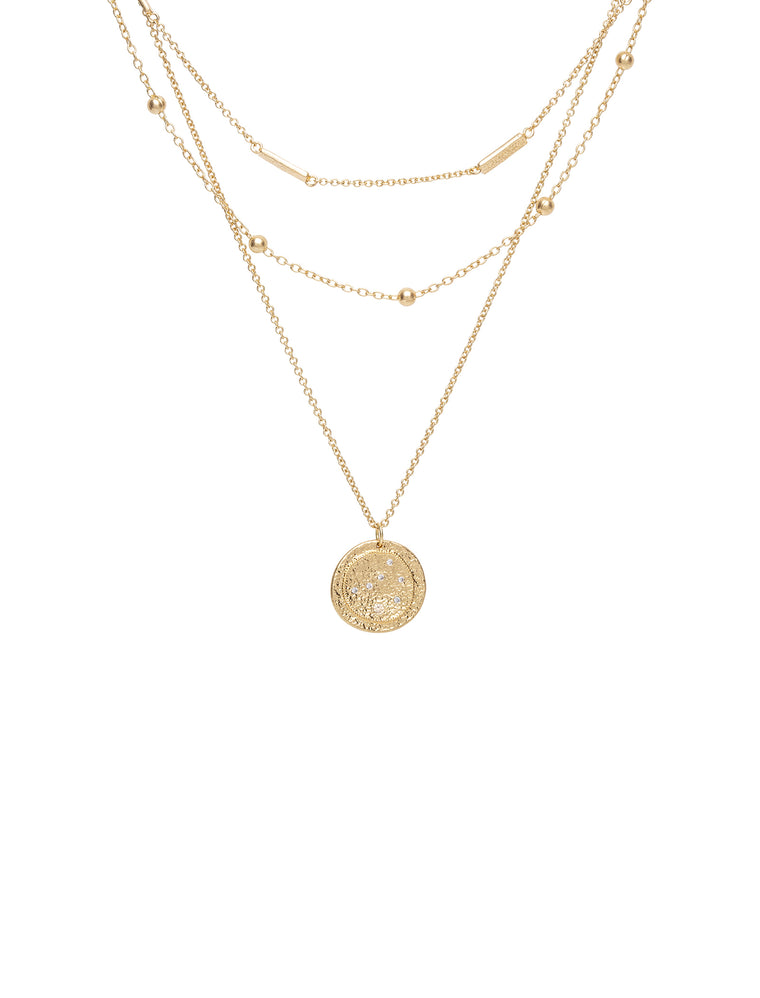 Nicole Fendel Aelia Layered Necklace - The Artisan Storeroom