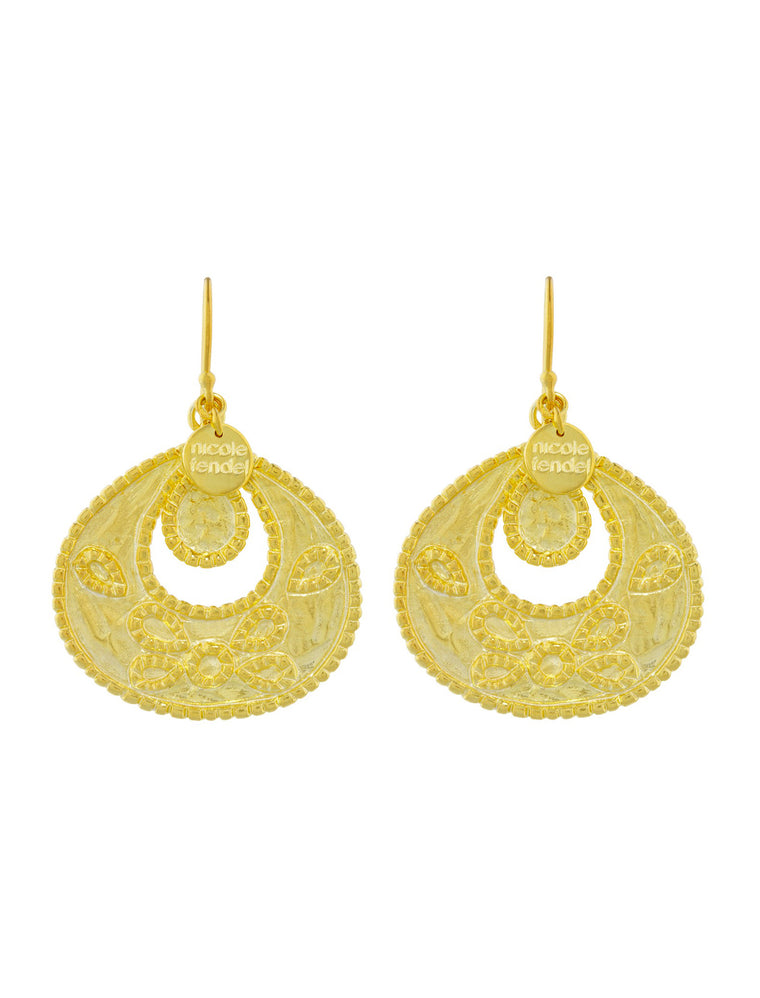 Nicole Fendel Dakota Large Earrings - The Artisan Storeroom