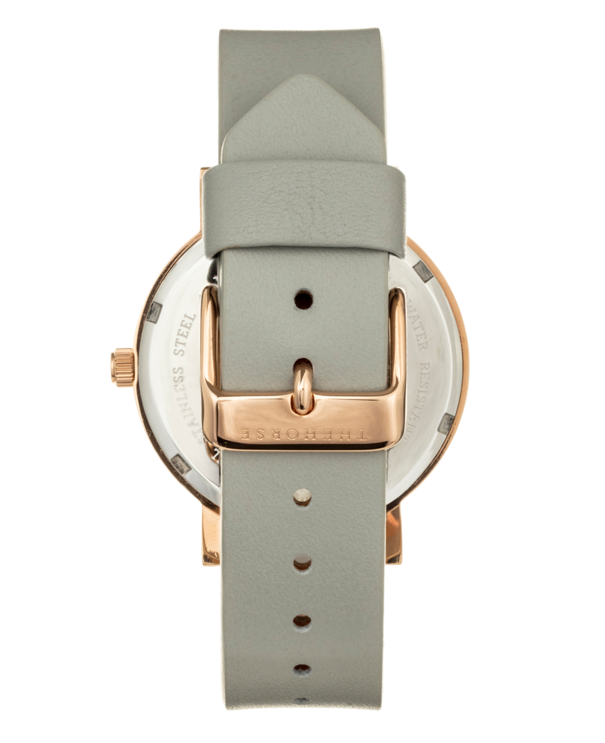 The Horse Mini Original MA23- Rose Gold / Grey Leather - The Artisan Storeroom