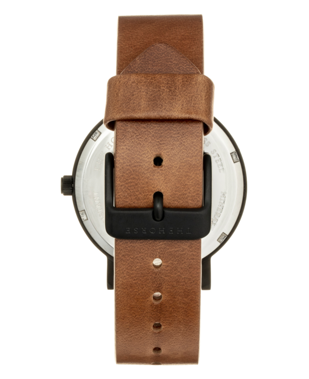 The Horse Mini Original MA4- Black Case / Tan Leather - The Artisan Storeroom