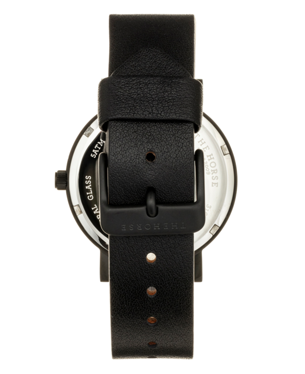 The Horse Mini Original MA6- Black Case / Black Leather - The Artisan Storeroom