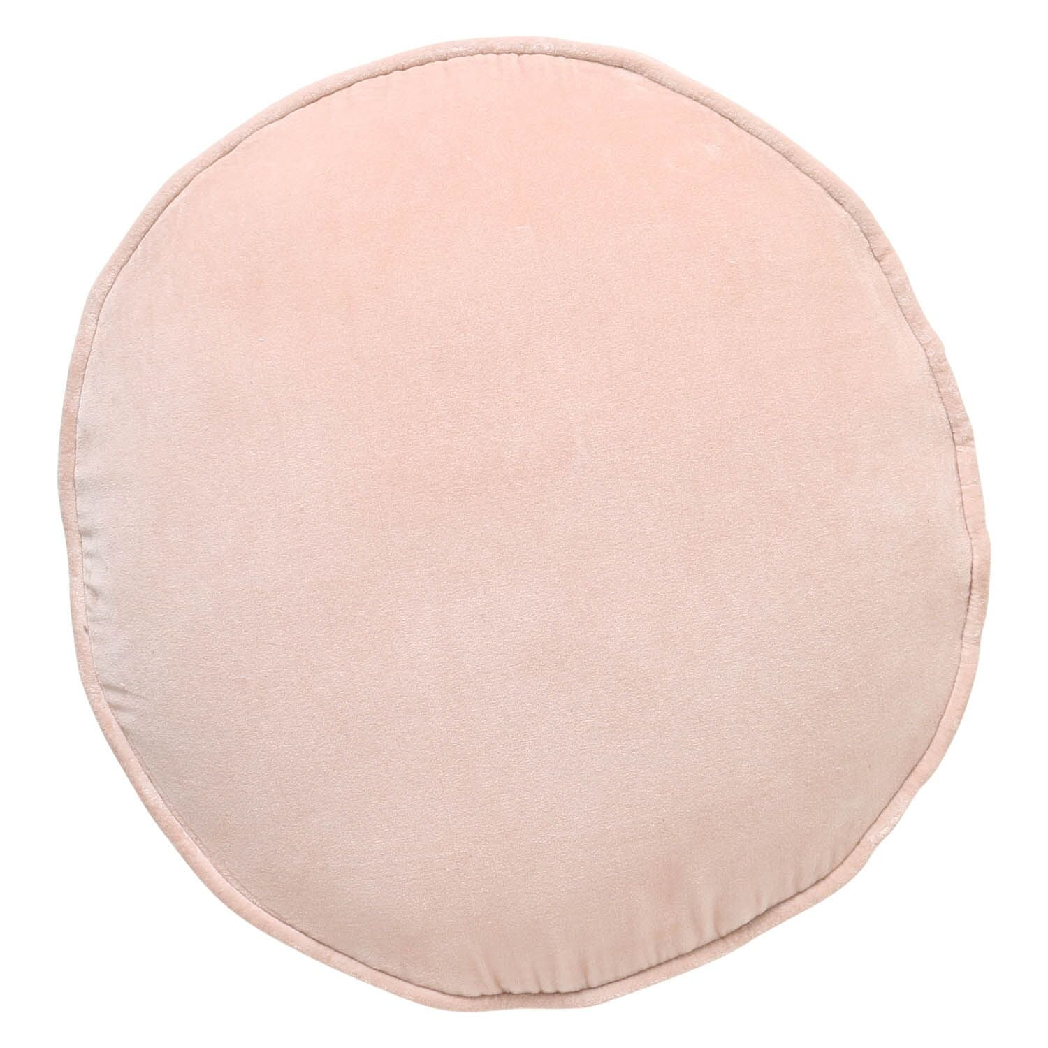 Kip & Co Spanish Villa Pink Velvet Pea Cushion - The Artisan Storeroom