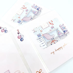 Sticker ALBUM Miss + Meow Collab