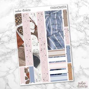 Fashionista Foiled Weekly Kit