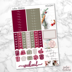 Holiday Foiled Weekly Kit