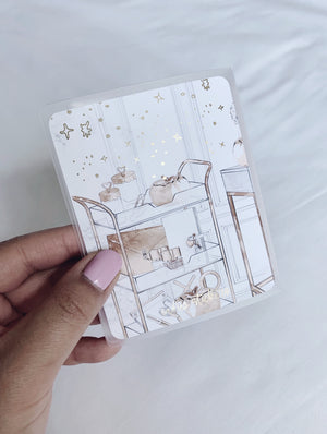 Mini Sticker Album - Planner Desk