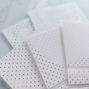 Large Size Sticker Album - Bow Polka Dot