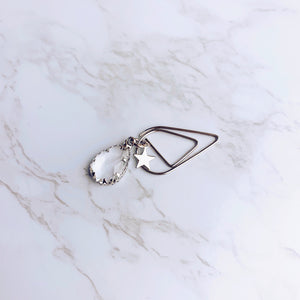 Clear Teardrop Clip - S05