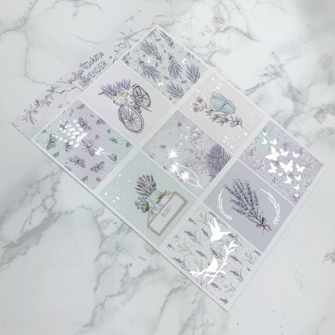 Lavender Foiled Weekly Kit