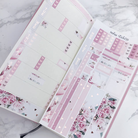 xoxo Foiled Hobonichi Weeks Kit