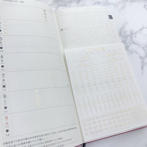 Hobonichi Weeks Foiled Sampler