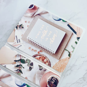 Mini Sticker Album - Desk Flatlay