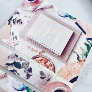 Large Size Sticker Album - Desk Flatlay