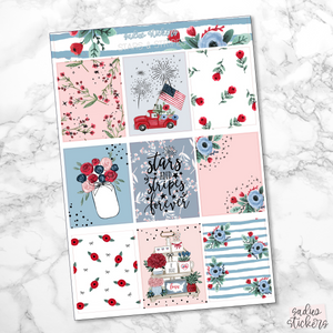 Stars & Stripes Foiled Weekly Kit