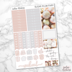 Sugar Plum Fairy Foiled Weekly Kit