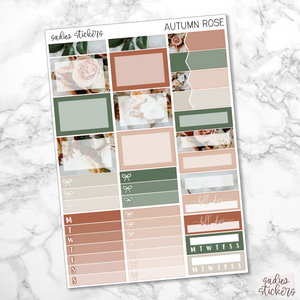 Autumn Rose Weekly Kit