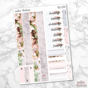 Blush Foiled Weekly Kit