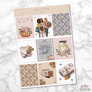Fall Foiled Weekly Kit