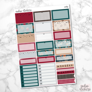 Jolly Foiled Weekly Kit