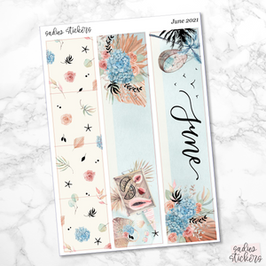 A5 Wide June Monthly Kit