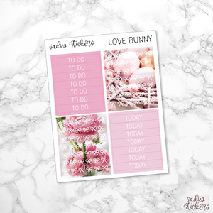 Love Bunny Weekly Kit