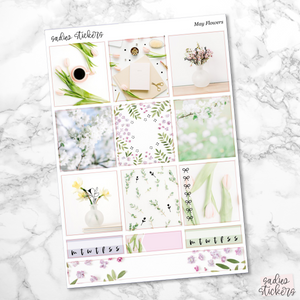 May Flowers Foiled B6 Kit