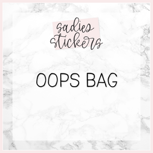 Black Friday Foiled Oops Grab Bag LIMIT TWO