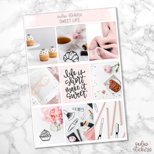 Sweet Life Foiled Weekly Kit