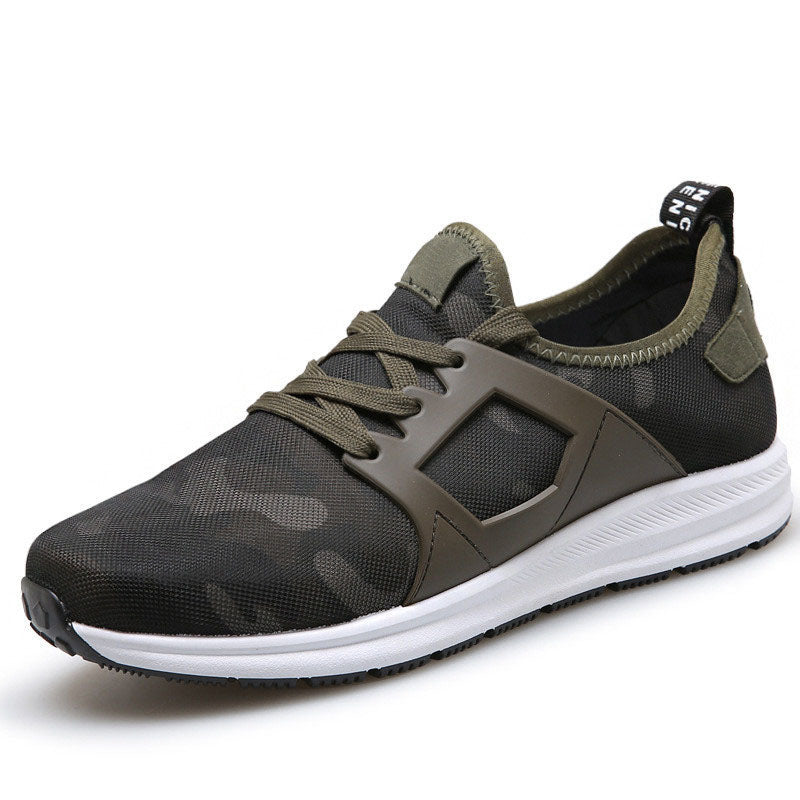 Super Men Casual Shoes Canvas Camouflage Star Style Male Shoes Comfort Soft Walking Driving Shoes Men Trainers