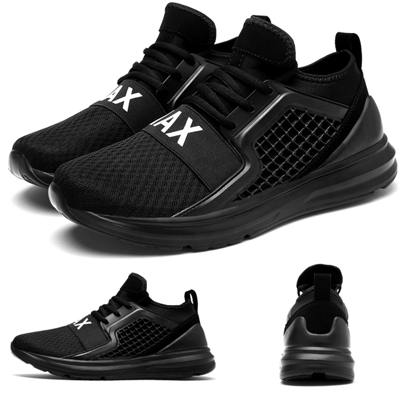 Man Running Sport Shoes