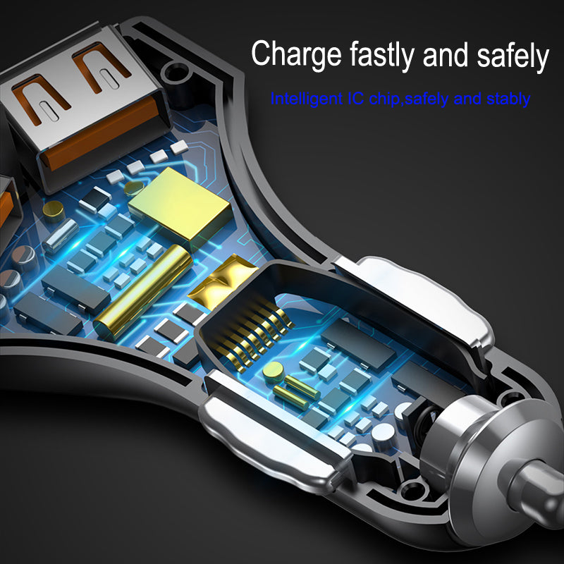 QC3.0 Turbo Fast Charging Car-charger