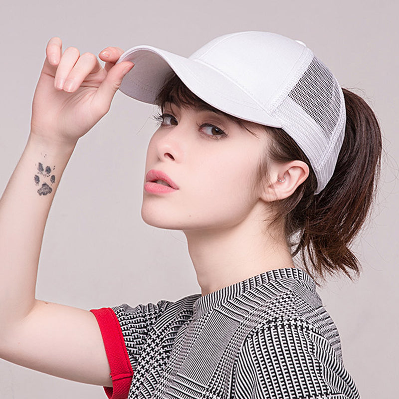 Women Ponytail Baseball Cap