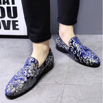Fashion Embroidery Business Shoes